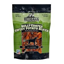 Redbarn Bully Coated Sweet Potato Slices