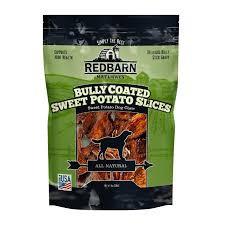 Redbarn Bully Coated Sweet Potato Slices