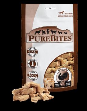 PureBites Freeze Dried Turkey Treats 2.47 oz