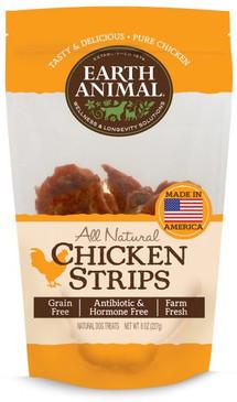 Earth Animal Chicken Strip Treats 8 oz