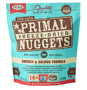 Primal Freeze-Dried Feline Chicken & Salmon Formula 14 oz