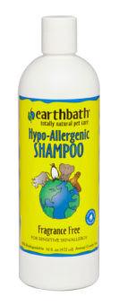 Earthbath Hypo-Allergenic Shampoo 16 oz.