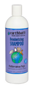 Earthbath Deodorizing Shampoo Mediterranean Magic 16 oz.