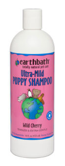Earthbath Ultra-Mild Puppy Shampoo Wild Cherry 16 oz.