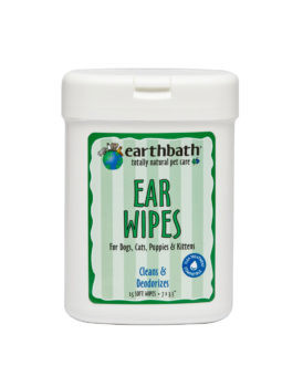 Earthbath Ear Wipes 25 Ct