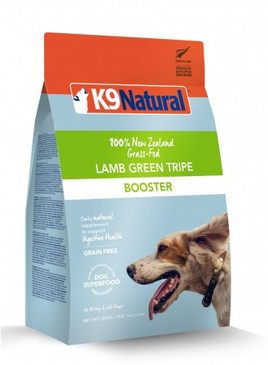 K9 Natural Lamb Green Tripe Booster 7 oz.
