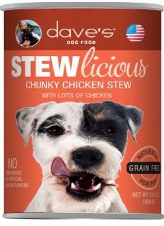 Dave's Chunky Chicken Stew