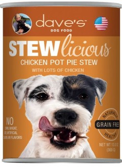 Dave's Chicken Pot Pie Stew
