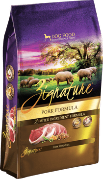 Zignature Pork Formula Limited Ingredient Dry Dog Food