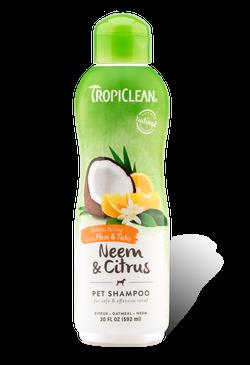 Tropiclean Neem & Citrus Flea & Tick Shampoo 20oz