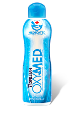 Tropiclean OxyMed Medicated Oatmeal Shampoo 20 oz