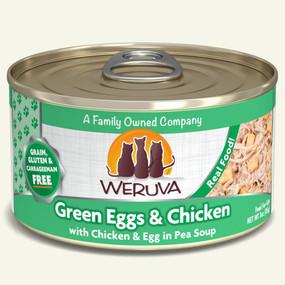 Weruva Green Eggs & Chicken – With Chicken & Eggs In Pea Soup