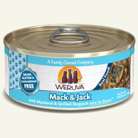 Weruva Mack & Jack – With Mackerel & Grilled Skipjack in Gravy