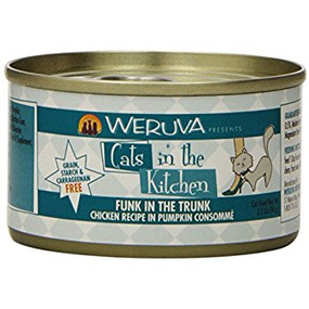 Weruva Cats in the Kitchen Funk in the Trunk- Chicken in Pumpkin Consomme