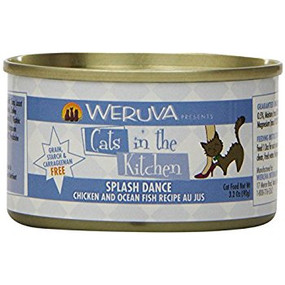 Weruva Cats in the Kitchen Splash Dance Chicken & Ocean Fish in Au Jus