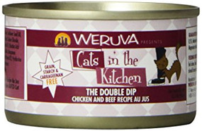Weruva Cats in the Kitchen The Double Dip Chicken & Beef in Au Jus