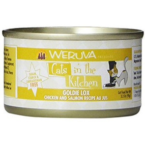 Weruva Cats in the Kitchen Goldie Lox - Chicken & Salmon in Au Jus
