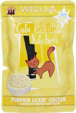 Weruva Cats in the Kitchen Pumpkin Lickin' Chicken Pouch