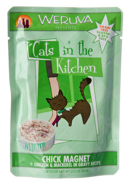 Weruva Cats in the Kitchen Chick Magnet Pouch