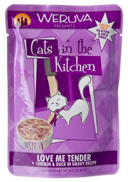 Weruva Cats in the Kitchen Love Me Tender Pouch