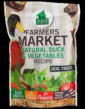 Plato Farmers Market Natural Duck & Vegetables 14 oz