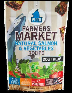 Plato Farmers Market Natural Salmon & Vegetables 14 oz