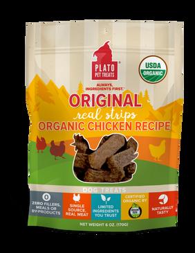 Plato Original Real Strips Organic Chicken Recipe