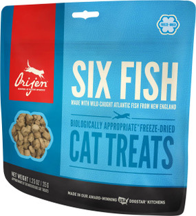 Orijen Six Fish Cat Treats 1.25 oz