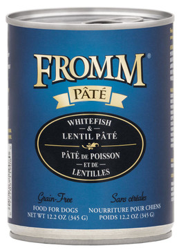 Fromm Grain Free Whitefish & Lentil Pate