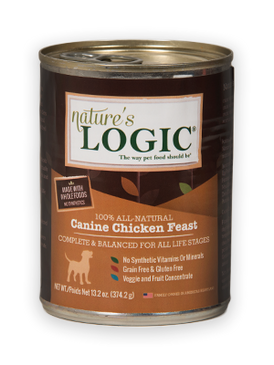 Nature's Logic Canine Chicken Feast