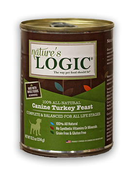 Nature's Logic Canine Turkey Feast