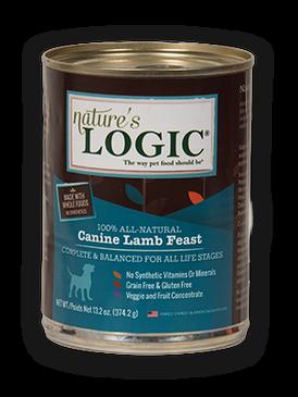 Nature's Logic Canine Lamb Feast