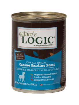 Nature's Logic Canine Sardine Feast