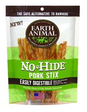 Earth Animal No-Hide Pork Stix