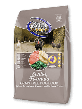 NutriSource Grain Free Senior Formula