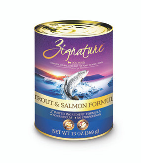 Zignature Trout & Salmon Formula