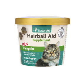 NaturVet Hairball Soft Chews