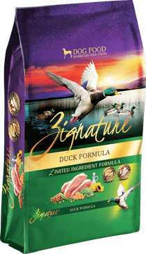 Zignature Duck Formula Limited Ingredient  Dry Dog Food