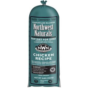 Northwest Naturals Frozen Raw Dog Food Chicken Chub 2 lbs.