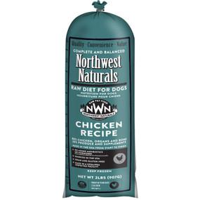 Northwest Naturals Frozen Raw Dog Food Chicken Chub 2 lbs.