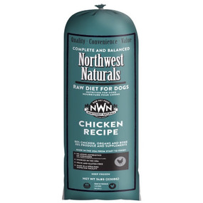 Northwest Naturals Frozen Raw Dog Food Chicken Chub 5 lbs.