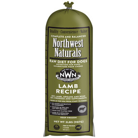 Northwest Naturals Frozen Raw Dog Food Lamb Recipe Chub 2 lbs.