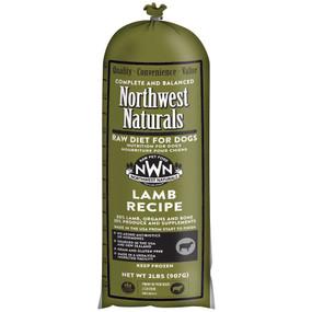 Northwest Naturals Frozen Raw Dog Food Lamb Recipe Chub 2 lbs.