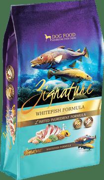Zignature Whitefish Formula Limited Ingredient Dry Dog Food