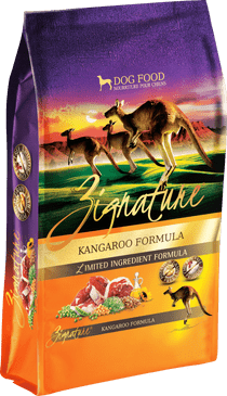 Zignature Kangeroo Formula Limited Ingredient Dry Dog Food