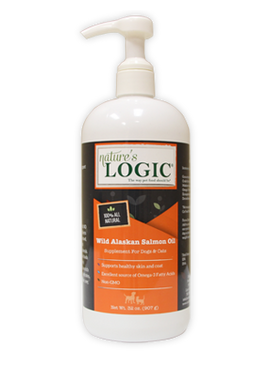 Nature's Logic Wild Alaskan Salmon Oil 16 oz.