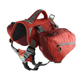 Kurgo Baxter Dog Backpack / Barn Red