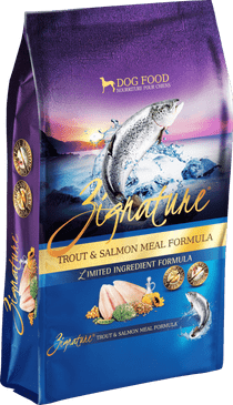 Zignature Trout & Salmon Formula Limited Ingredient Dry Dog Food