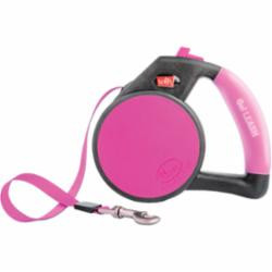 Wigzi Retractable Gel Leash Pink