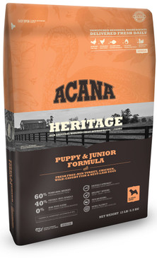 Acana Heritage Puppy & Junior Formula